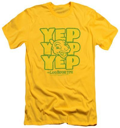 Land Before Time - Yep Yep Yep (slim fit)