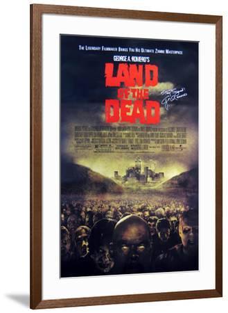 Land Of The Dead--Framed Original Poster