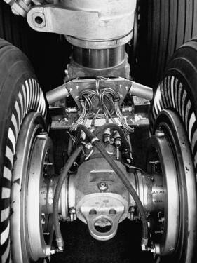 Landing Gear of a New Boeing 707 Jet