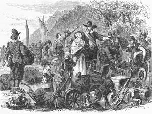 Landing of Dutch Colony on Staten Island