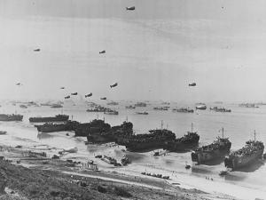 Landing on Omaha Beach