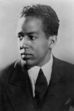 Langston Hughes, African American Poet, Novelist, Playwright, and Journalist, Ca. 1930