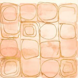 Circular Squares of Peach by Lanie Loreth
