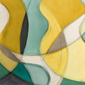 Curving Color Square I by Lanie Loreth