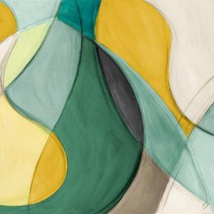 Curving Color Square II by Lanie Loreth