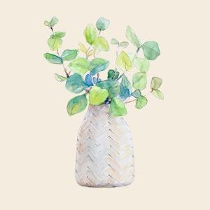 Decorative Potted Plant III by Lanie Loreth