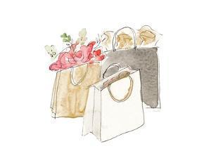 Holiday Shopping Bags II by Lanie Loreth