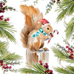 Holiday Squirrel by Lanie Loreth