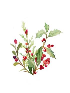 Holly Branches I by Lanie Loreth