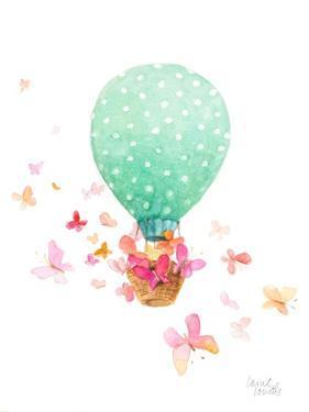 Hot Air Balloon with Butterflies by Lanie Loreth