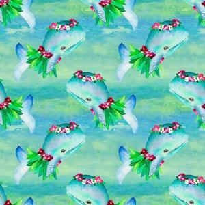 Hula Whale Pattern by Lanie Loreth