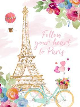 Paris Bike Ride by Lanie Loreth