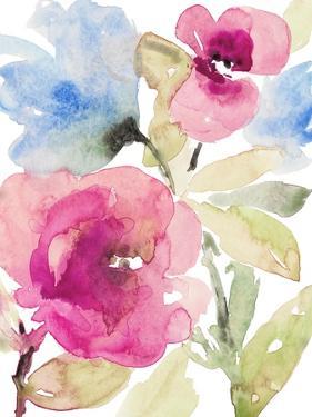 Peaceful Florals I by Lanie Loreth