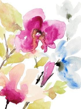 Peaceful Florals II by Lanie Loreth
