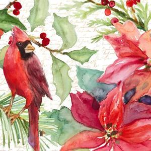 Poinsettia and Cardinal II by Lanie Loreth