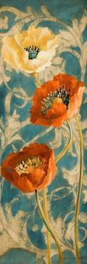 Poppies de Bleu II by Lanie Loreth