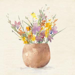 Potted Wildflowers by Lanie Loreth