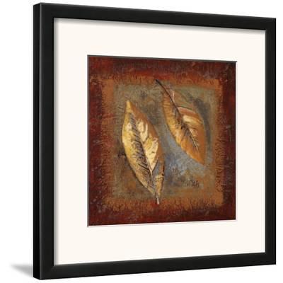 Rustic Leaf Square II by Lanie Loreth