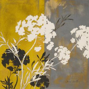 Silhouette Flowers I by Lanie Loreth