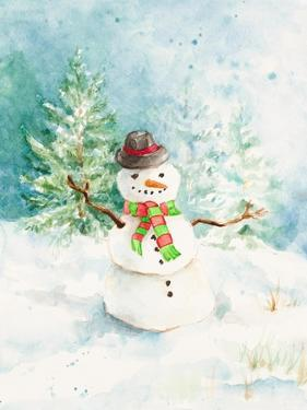 Snowman in the Pines by Lanie Loreth