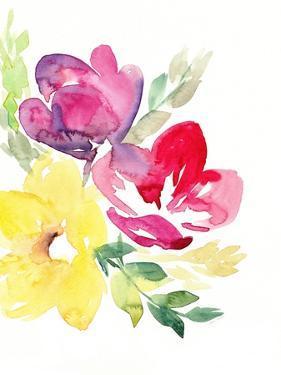 Spring Rhapsody FLorals I by Lanie Loreth