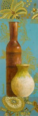 Vases on European Floral II by Lanie Loreth