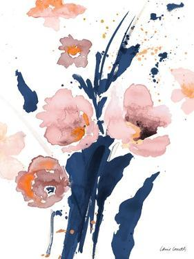 Watercolor Pink Poppies I by Lanie Loreth