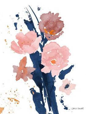 Watercolor Pink Poppies II by Lanie Loreth