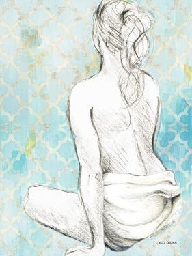 Woman Sitting on Pattern II by Lanie Loreth