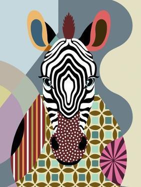 Spectrum Zebra by Lanre Adefioye
