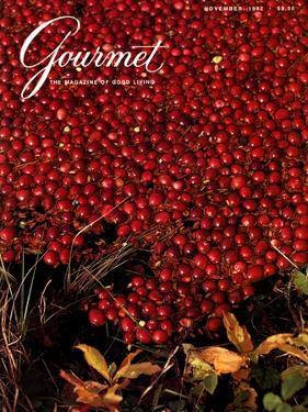 Gourmet Cover - November 1982 by Lans Christensen