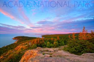 Acadia National Park, Maine - Cadillac Mountains by Lantern Press