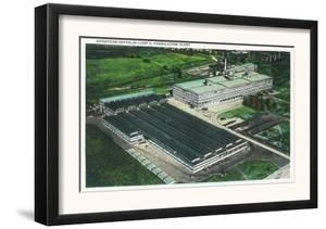 Aerial View of Goodyear-Zeppelin Fabrication Plant - Akron, OH by Lantern Press