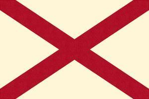 Alabama State Flag by Lantern Press