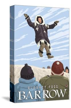 Alaska Blanket Toss, Barrow, Alaska by Lantern Press