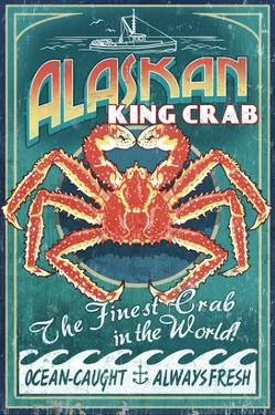 Alaska King Crab by Lantern Press