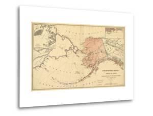 Alaska - Panoramic State Map by Lantern Press