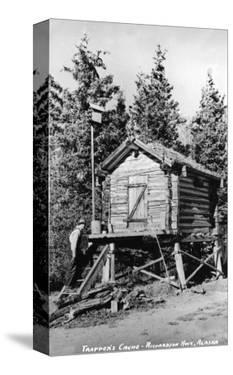 Alaska - Richardson Hwy; A Trapper's Cache by Lantern Press