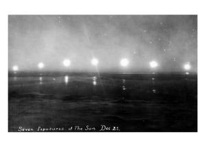 Alaska - Seven Exposures of the Sun by Lantern Press