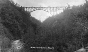 Alaska - View of Hurricane Gulch Bridge by Lantern Press