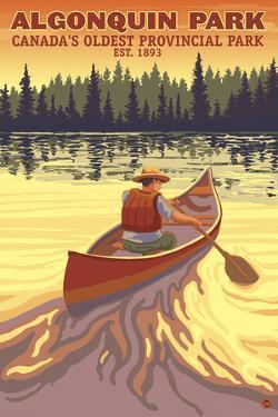 Algonquin Provincial Park - Ontario, Canada by Lantern Press