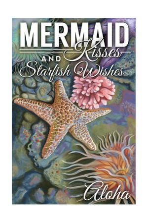 Aloha - Mermaid Kisses and Starfish Wishes - Tidepool by Lantern Press