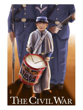 Americam Civil War - Drummer Boy by Lantern Press