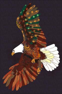 Americana - Soaring Eagle by Lantern Press