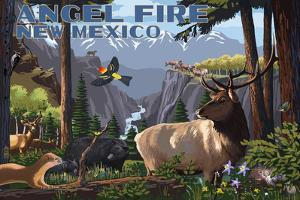 Angel Fire, New Mexico - Wildlife Utopia by Lantern Press