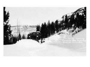 Antonito, Colorado - Cumbres Pass Hwy Spring Opening by Lantern Press