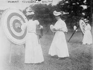 Archery Tournament in Boston, MA by Lantern Press