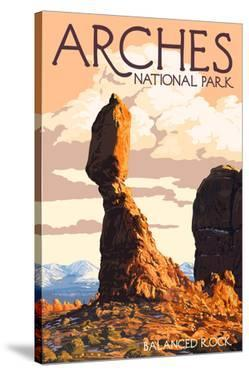 Arches National Park, Utah - Balanced Rock by Lantern Press