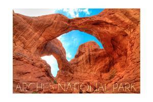 Arches National Park, Utah - Daytime Blue Sky by Lantern Press