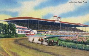 Arlington Heights, Illinois - Horse Race at Arlington Race Track by Lantern Press